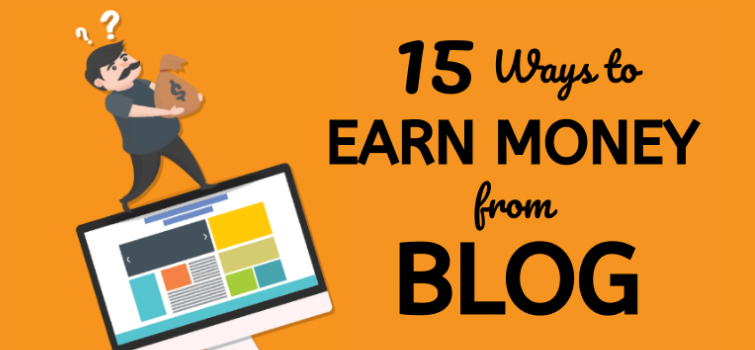 Earn money from blog in india